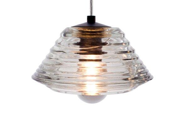 Tom Dixon Pressed Glass Light