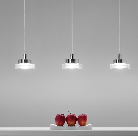 Toso, Massari & Associati Disk Pendant Lamp