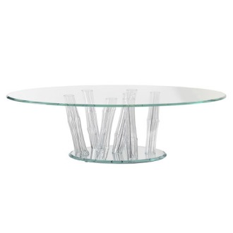 Tulczinsky Bamboo Table