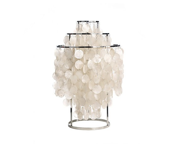 Verner Panton Fun Mother Of Pearl Lamp Collection