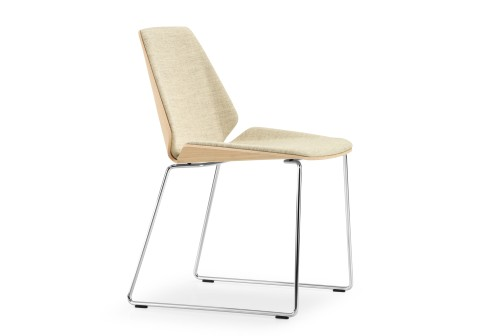 Wolfgang C R Mezger Sled Base Pala Chair