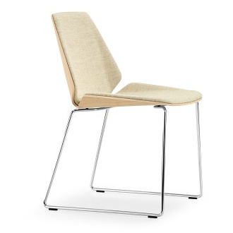 Wolfgang C.R. Mezger Sled Base Pala Chair