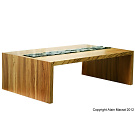 Alain Marzat Low Coffee Table