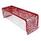 Chris Kabatsi Coral Bench