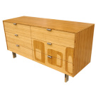 James Sanderson and Michael Iannone Green Mod: Midcentury Inlay Long Dresser