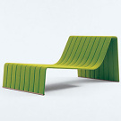 Francesco Rota Frame Chaise Longue