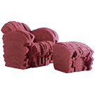 Frank Gehry Red Beaver Armchair