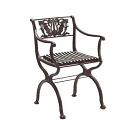 Karl Friedrich Schinkel D 60 Garden Chair and Bench