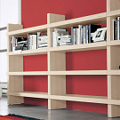 Piero Lissoni Monolit Bookcase