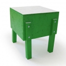 Fabian Baumann and S&ouml;nke Hoof Schweinchen Stool