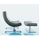 Hannes Wettstein Spin Armchair and Otoman