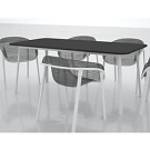 Tom Dixon Mesh Chair and Table