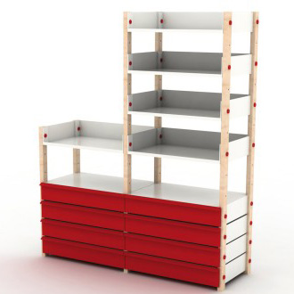 Build Free Standing Shelves Plans - DIY Woodworking Projects